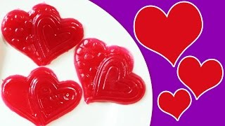 How to Make Gummy Heart Sweets | Fruity and Delicious Gummy Hearts