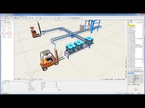 Ausführliches Tutorial taraVRbuilder: Aufbau einer logistischen VR-Szene