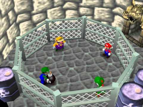 Mario Party Netplay 4 player Minigame: Hot Bob-omb