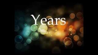 Years Alesso Feat. Matthew Koma Lyrics
