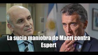 ¿El fin de la candidatura de Espert para las elecciones presidenciales de Argentina?
