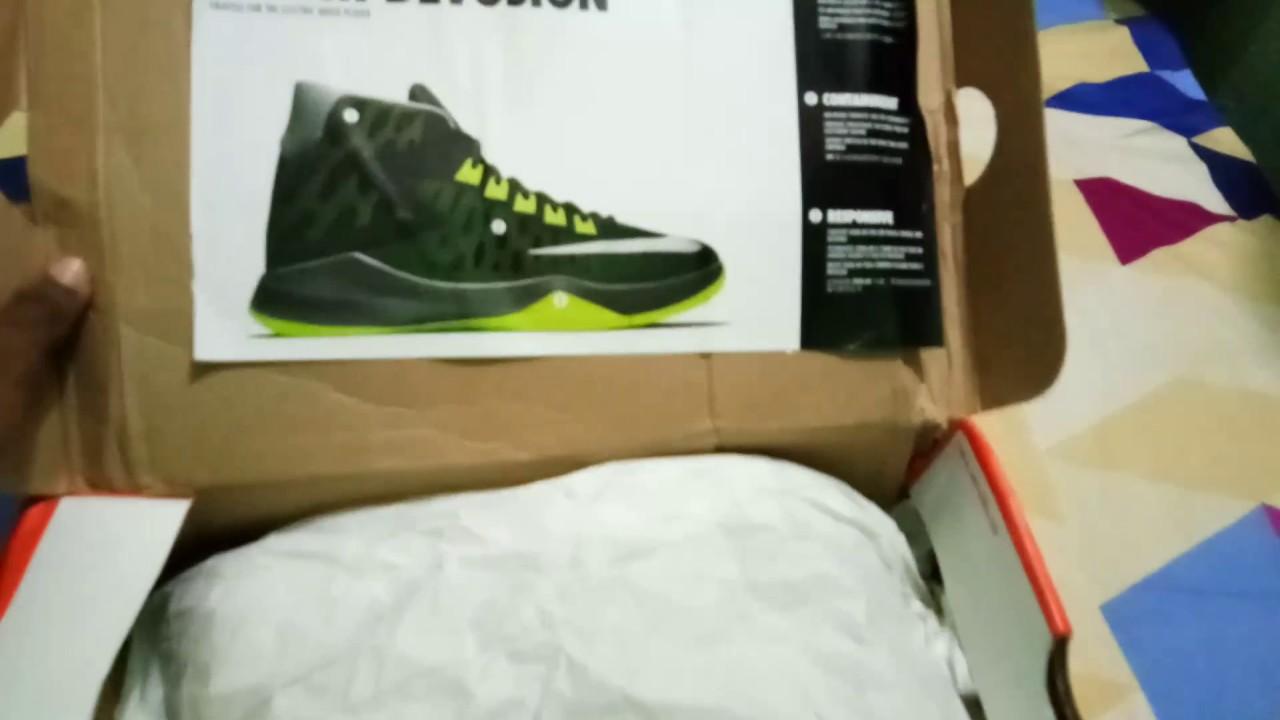 9e29206e2f4f Unboxing of Nike zoom devosion - YouTube