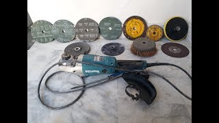 How To Use Angle Grinder In Urdu/Hindi | Selecting Grinder Discs