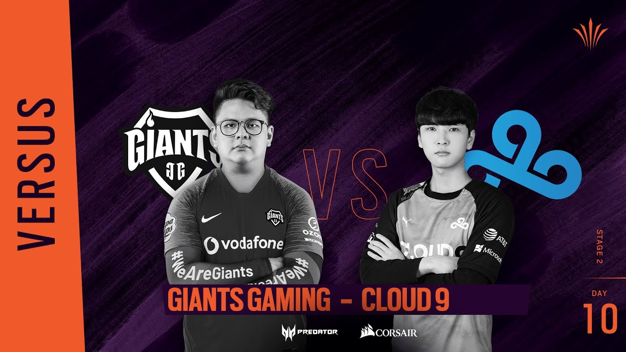 Giants Gaming vs Cloud9 // Rainbow Six APAC North Division 2020 - Stage 2 - Playday #10