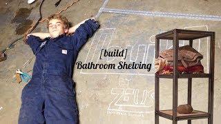 [build] Bathroom Shelving Unit