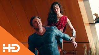 Брюс и Диана Обсуждают Воскрешение Супермена ★ Лига Справедливости (2017)