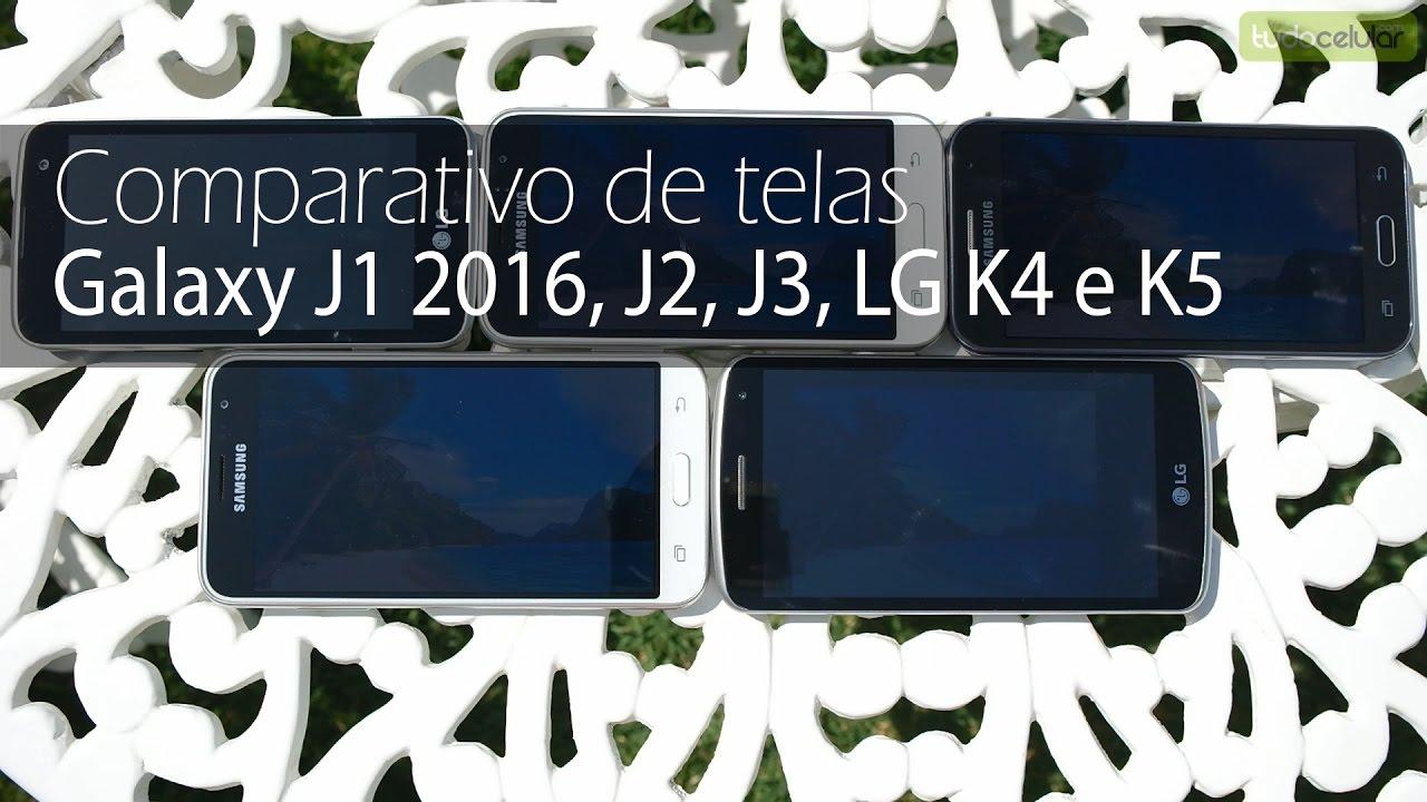 Compare o Samsung Galaxy J1 2016 - Tudocelular com