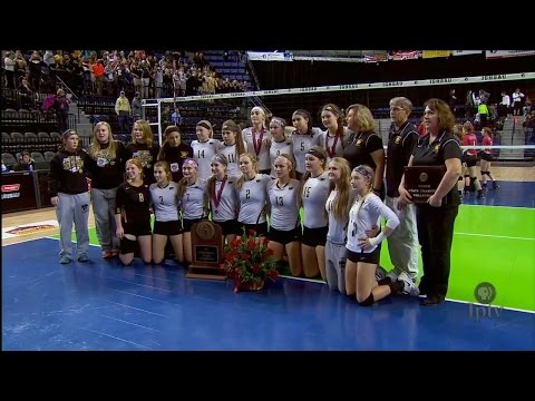 (1A) 2015 IGHSAU Iowa Farm Bureau Girls State Volleyball Cha