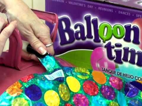 How to Inflate a Foil Balloon