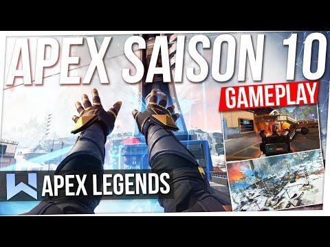 APEX : NOUVEAU GAMEPLAY SAISON 10 ! Découverte Seer & Nouvelle Arme, Nouvelle Map... (EMERGENCE)