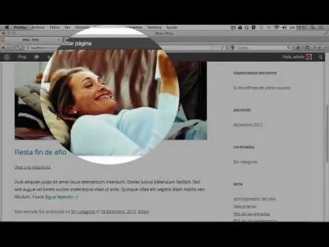 Wordpress Tutorial Español | Página de inicio entradas o estática en ...