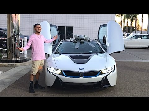 faze rug car. thumbnail: my brand new car!! bmw i8 faze rug car