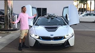 Repeat youtube video MY BRAND NEW CAR!! BMW i8