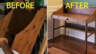 재활용목공-책상만들기 …