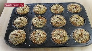 Muffiny dyniowe z jabłkiem i orzechami :: Skutecznie.Tv [HD]