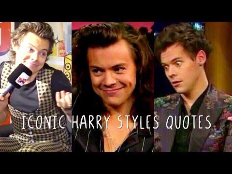 Iconic Harry Styles Quotes