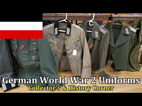 German World War 2 Uniforms: Real, Repair, Reproduction | Collector's & History Corner