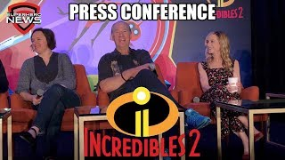 Disney Pixar Incredibles 2 - Full Press Conference