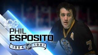 Phil Esposito was record-setting goal scorer