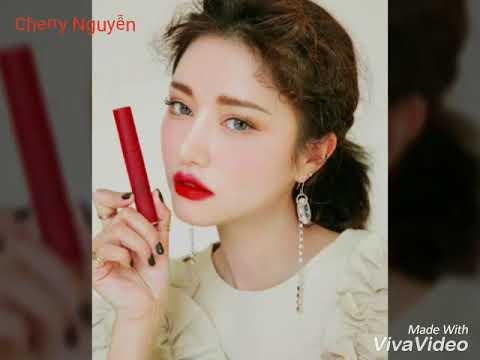 Giới Thiệu Màu Son 3CE Velvet Lip Tint