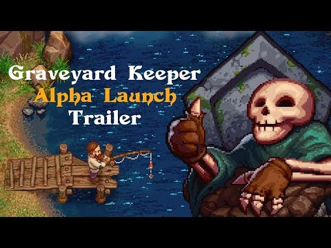 raveyard Keeper Alpha Launch Trailer