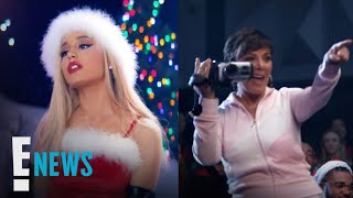Ariana Grande Talks Working With Kris Jenner on