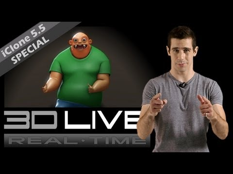 Real time 3D Live - iClone 5.5 SPECIAL