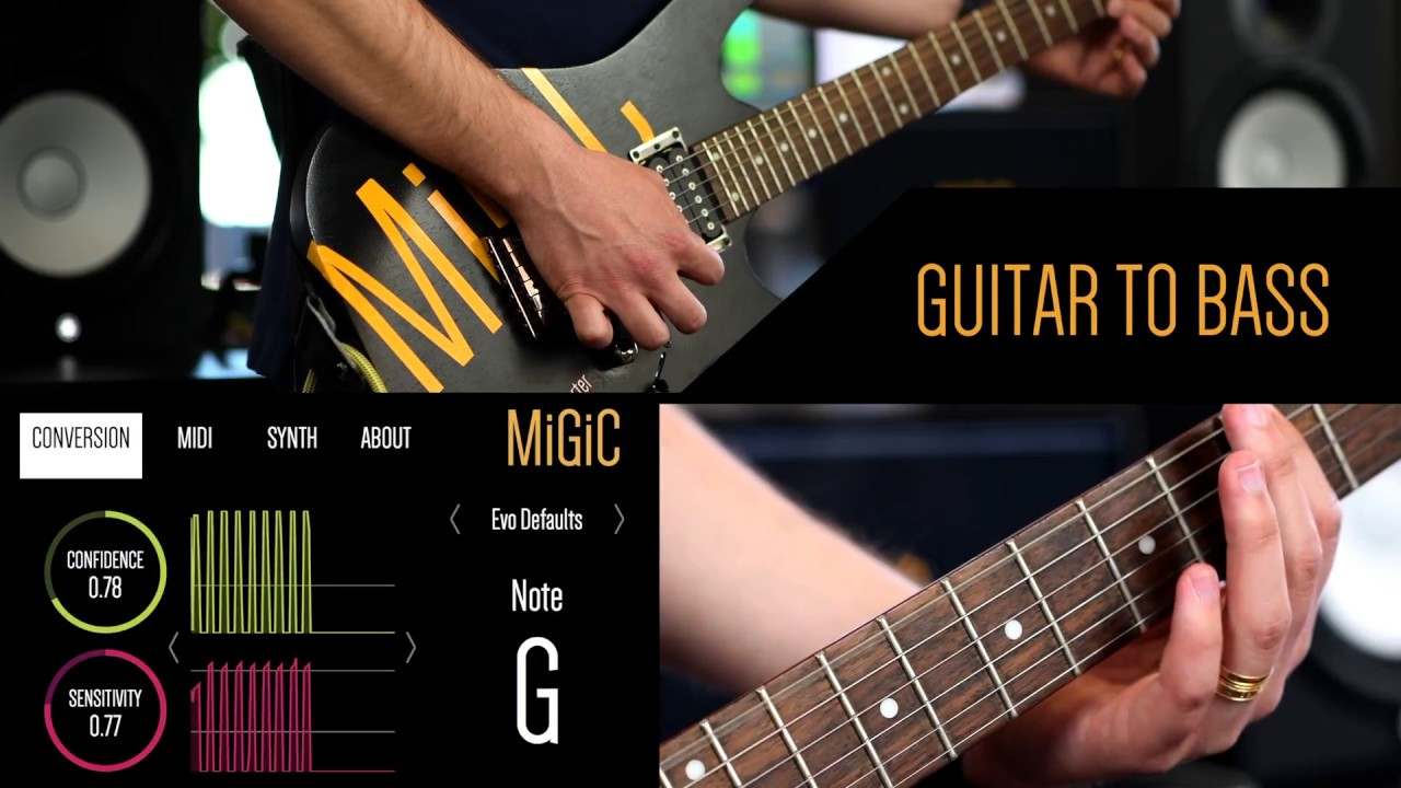MiGiC | Introducing MiGiC - Real time guitar to midi conversion