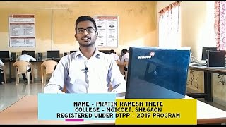 Pratik Thete's Live Review of DTPP program...