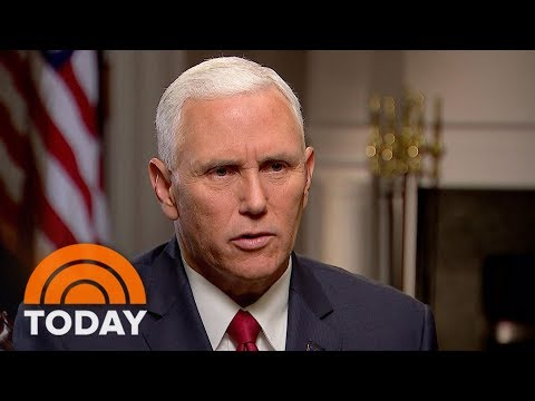 Vice President Mike Pence: Donald Trump Has A 'Whole New Policy' For Afghanistan | TODAY