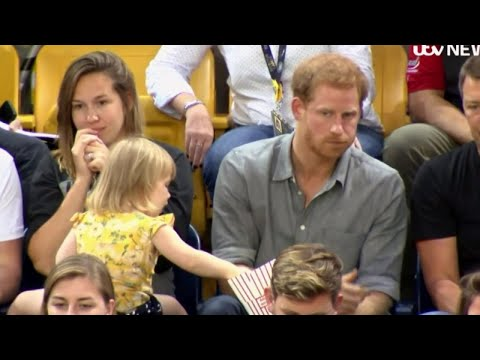 Thumbnail: Watch This 2-Year-Old Girl Adorably Steal Popcorn From Prince Harry