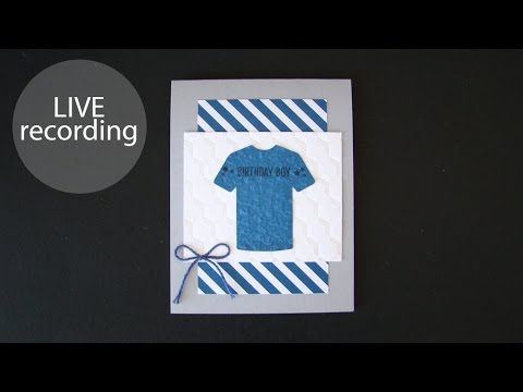Custom Tee Card (recorded live 2-14-2017)