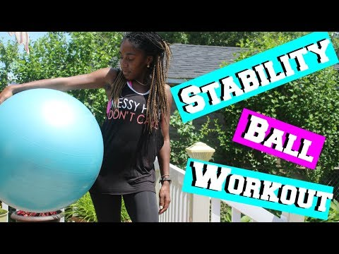 Great Stability Ball Workout
