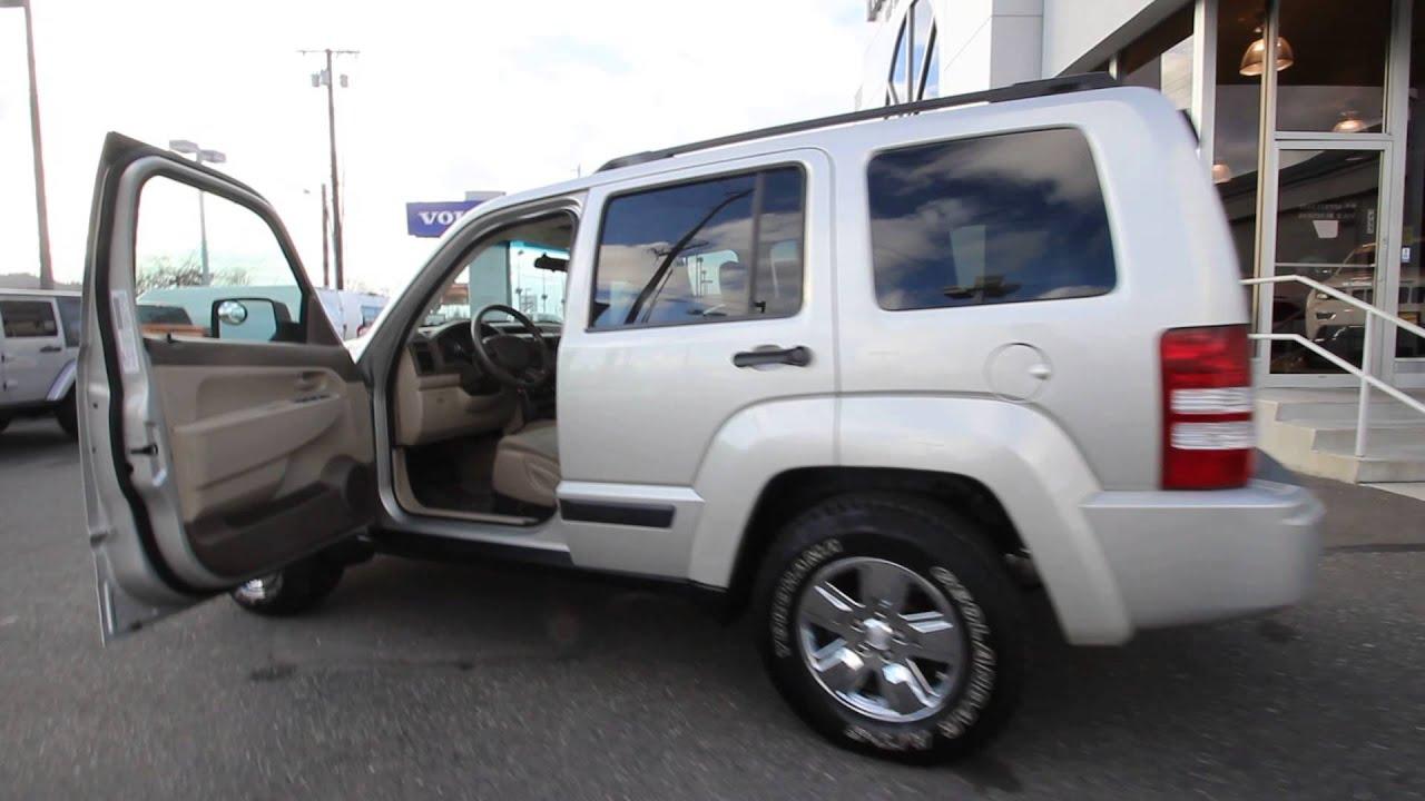 2008 jeep liberty sport | silver | 8w257870 | mt vernon | skagit