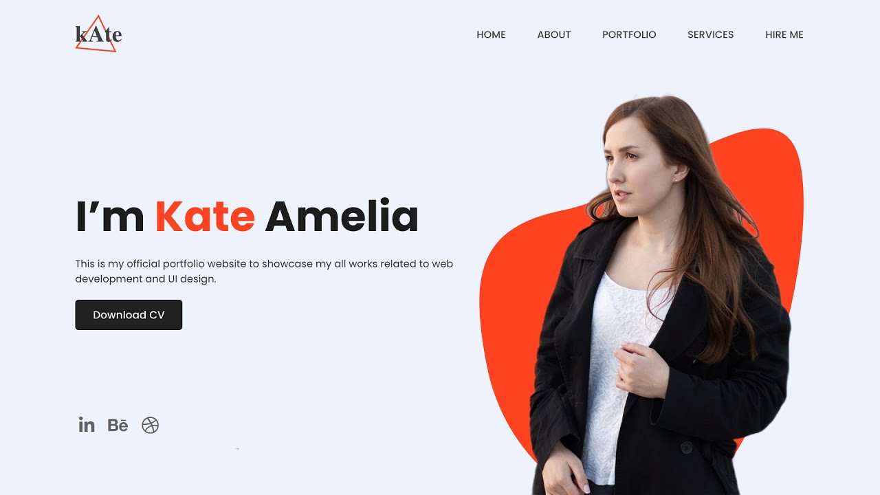 How To Make A Website With Image Transform Effect Using HTML and CSS