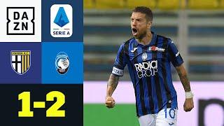 Tunnler, Abschluss, Sieg: Gomez besorgt den Dreier: FC Parma - Atalanta Bergamo 1:2 | Serie A | DAZN