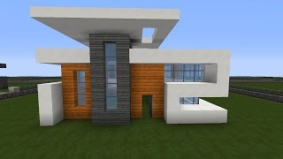 Modernes Haus X Minecraft Tutorial German HD - Minecraft hauser bauen tutorial deutsch