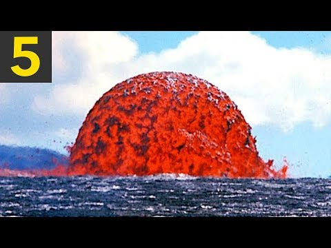 Top 5 Lava VS Water Videos