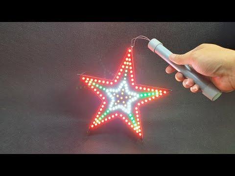 Build a Led Star Lantern At Home