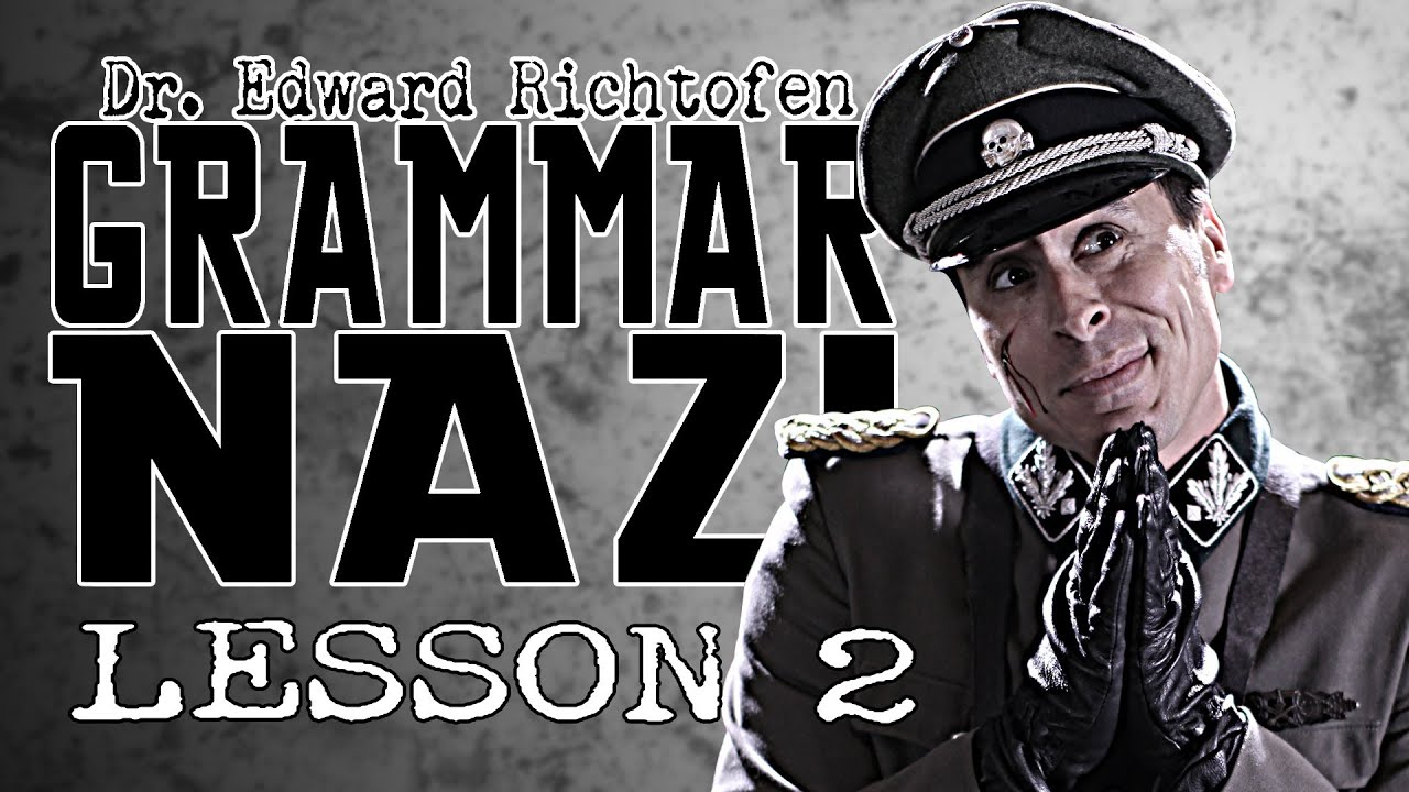 sc 1 st  YouTube & Dr. Edward Richtofen Grammar Nazi: Lesson 2 - YouTube