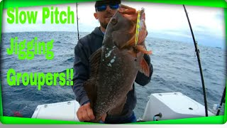 Catching Grouper Using Slow pitch Jigging Technique