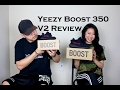 "Yeezy Boost 350 V2 Black/Red ""Bred"" - Adult/Infant Review & On Feet + GIVEAWAY"