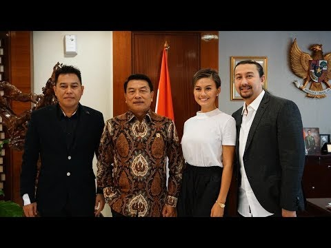 AGNEZ MO meeting dengan Kepala Staf Kepresidenan