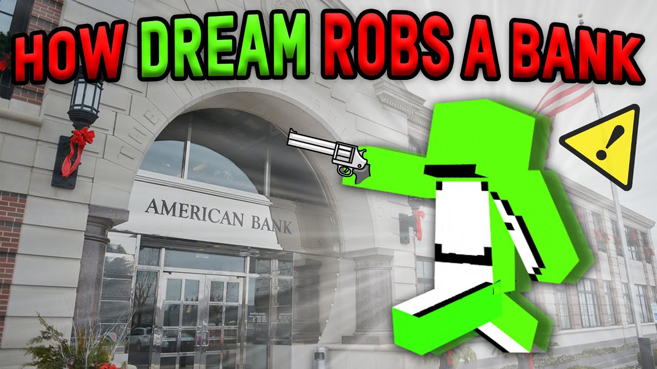 How Dream Robs A Bank (Insane Parkour)