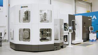 Horizontal machining center ma-600hⅡ with tower apc【okuma corporation japan】