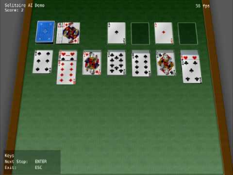 Automated 3D Solitaire AI Demo