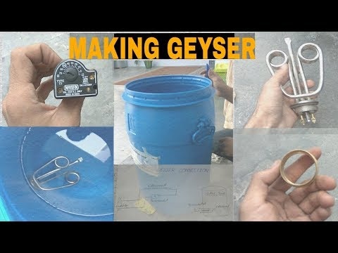 How To Make An Instant Water Heater Geyser At Home Un