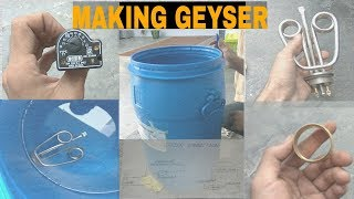 How To Make A Homemade Geyser | apne ghar me khud geyser kese banaye | TECHNICAL ANWER