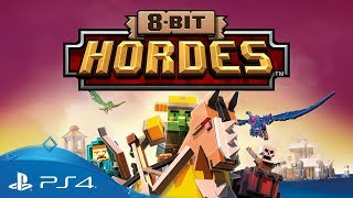 8-Bit Hordes | Gameplay Trailer | PS4