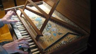 Carlos Seixas, Sonata in D minor, transcribed to C minor, played on replica 1677 Epinette à l'octave of Jean Denis, played by Ryan Layne Whitney